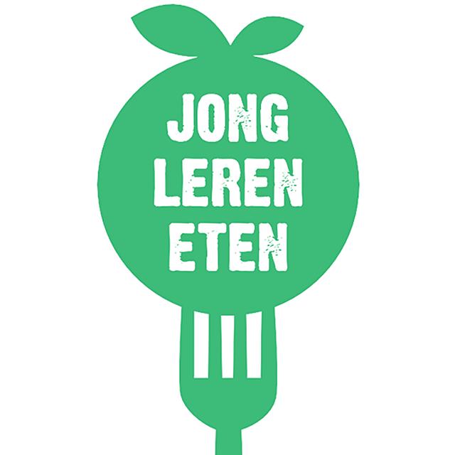 Jong leren eten logo