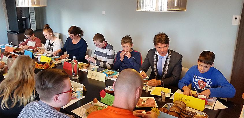 Nationaal Schoolontbijt stadskantoor Breda
