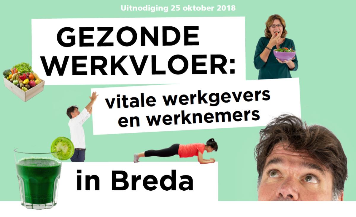 uitnodiging gezonde werkgevers en werknemers in Breda