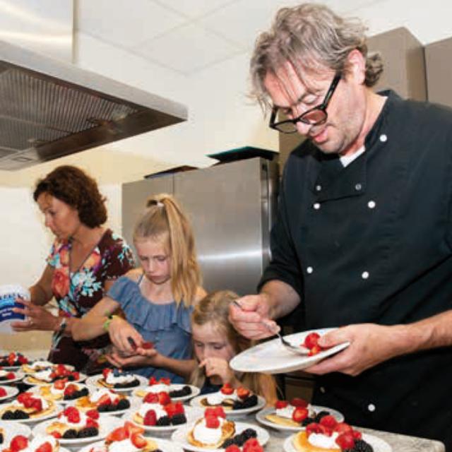 culinaire reis kok jong leren eten
