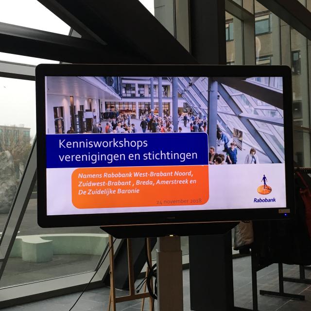 kennisworkshop voor verenigingen stichtingen